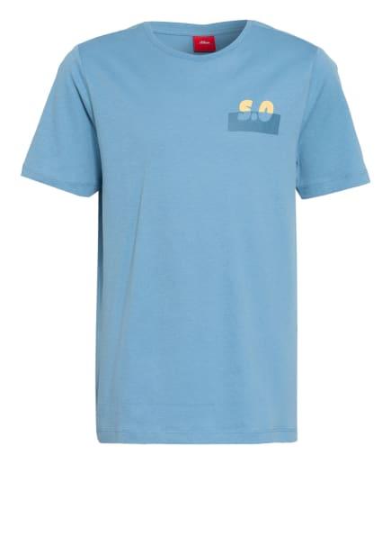 s.Oliver RED T-Shirt, Farbe: HELLBLAU (Bild 1)