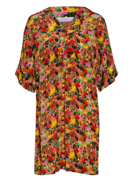 FrogBox Kleid mit 3/4-Arm, Farbe: GELB/ ROT/ GRÜN (Bild 1)