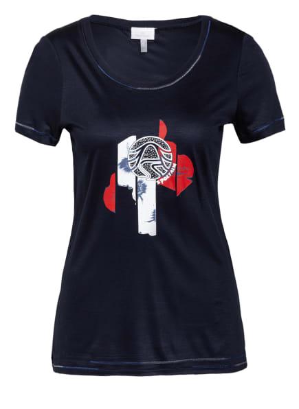 SPORTALM T-Shirt mit Schmucksteinbesatz, Farbe: DUNKELBLAU (Bild 1)