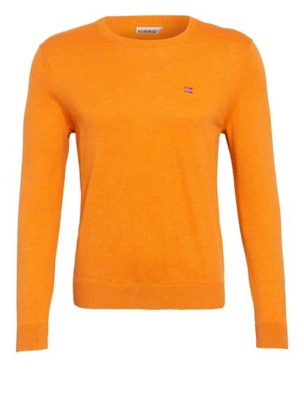 NAPAPIJRI Pullover, Farbe: DUNKELORANGE (Bild 1)