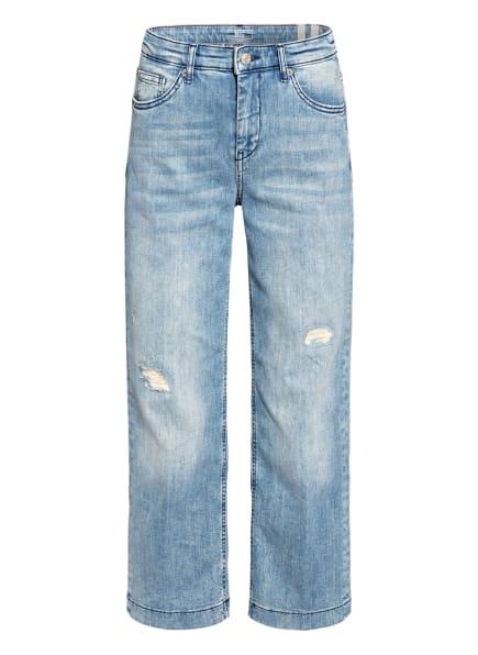 MAC Jeans-Culotte, Farbe: D468 greyish random blue (Bild 1)