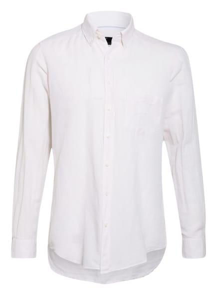 STROKESMAN'S Hemd Regular Fit mit Leinen, Farbe: WEISS (Bild 1)