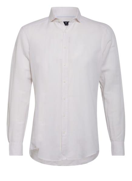 STROKESMAN'S Hemd Regular Fit mit Leinen , Farbe: CREME (Bild 1)