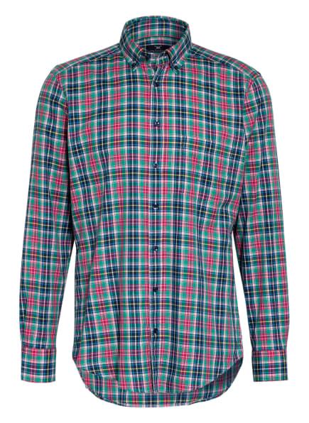 STROKESMAN'S Hemd Regular Fit, Farbe: GRÜN/ ROT/ DUNKELBLAU (Bild 1)