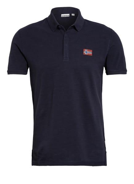 NAPAPIJRI Piqué-Poloshirt EBEA , Farbe: DUNKELBLAU (Bild 1)