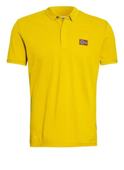 NAPAPIJRI Piqué-Poloshirt EBEA , Farbe: DUNKELGELB (Bild 1)