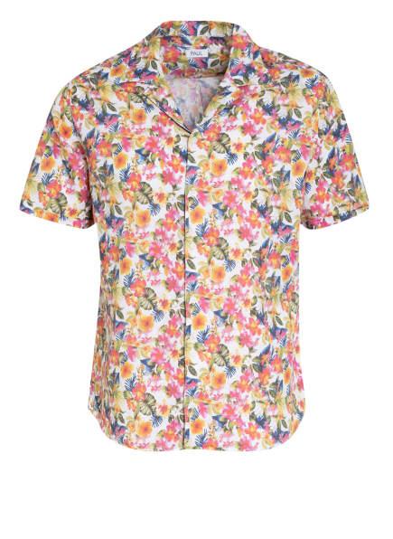 PAUL Resorthemd Comfort Fit mit Leinen, Farbe: WEISS/ ROSA/ OLIV (Bild 1)