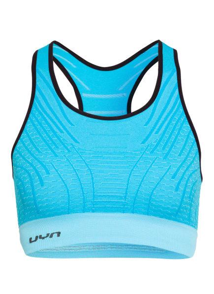 UYN Sport-BH UYN MOTYON 2.0, Farbe: HELLBLAU/ SCHWARZ (Bild 1)