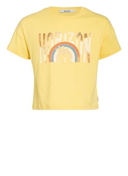GARCIA Cropped-Shirt, Farbe: GELB (Bild 1)