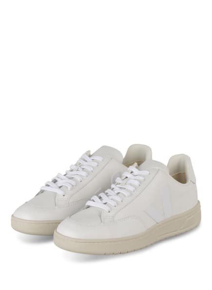 VEJA Sneaker V-12, Farbe: WEISS (Bild 1)