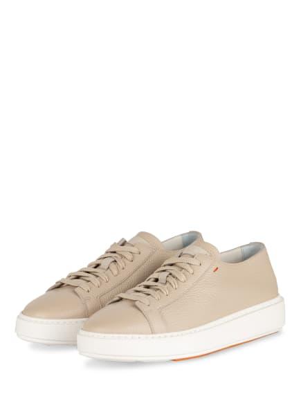 Santoni Plateau-Sneaker, Farbe: BEIGE (Bild 1)