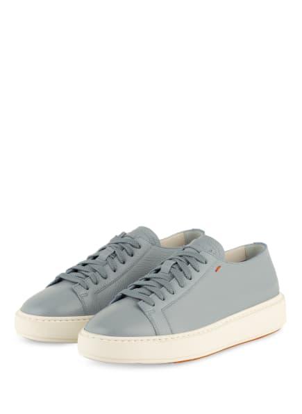 Santoni Plateau-Sneaker, Farbe: HELLBLAU (Bild 1)