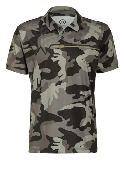 BOGNER Funktions-Poloshirt BENICIO mit Mesh-Einsatz , Farbe: SCHWARZ/ GRAU (Bild 1)