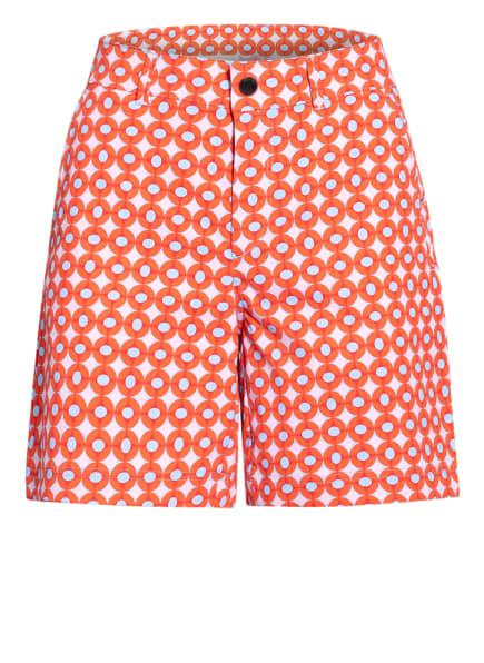 BOGNER Shorts NOALIE, Farbe: ROT/ HELLBLAU/ ROSA (Bild 1)