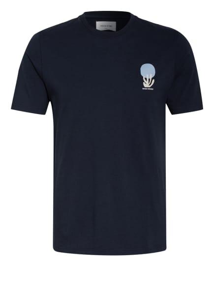 WOOD WOOD T-Shirt, Farbe: DUNKELBLAU (Bild 1)