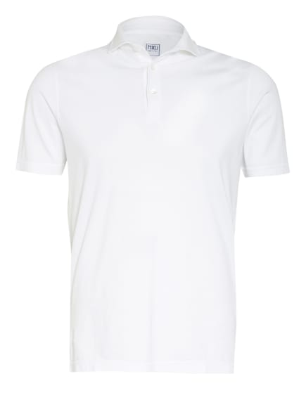 FEDELI Jersey-Poloshirt ZERO, Farbe: WEISS (Bild 1)