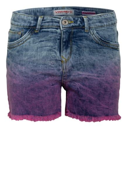 VINGINO Jeans-Shorts DAFINA, Farbe: BLAU/ HELLBLAU/ PINK (Bild 1)
