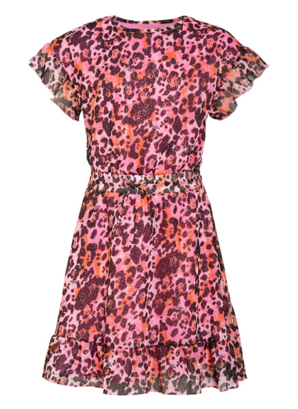 VINGINO Kleid PRINCIE, Farbe: ROSA/ DUNKELBRAUN/ GOLD (Bild 1)