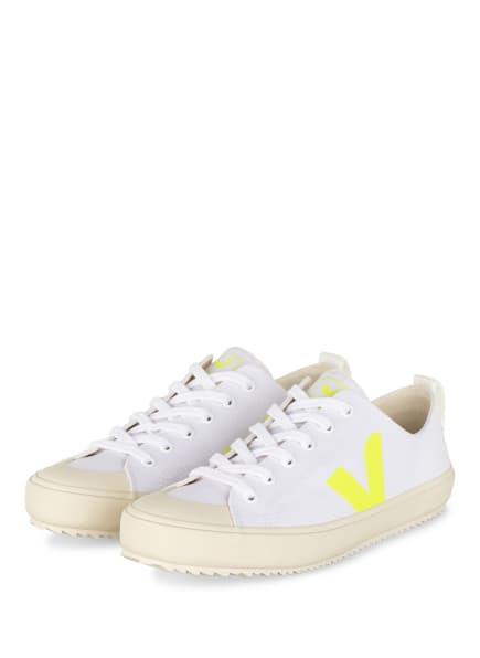 VEJA Sneaker NOVA , Farbe: WEISS/ CREME/ NEONGELB (Bild 1)