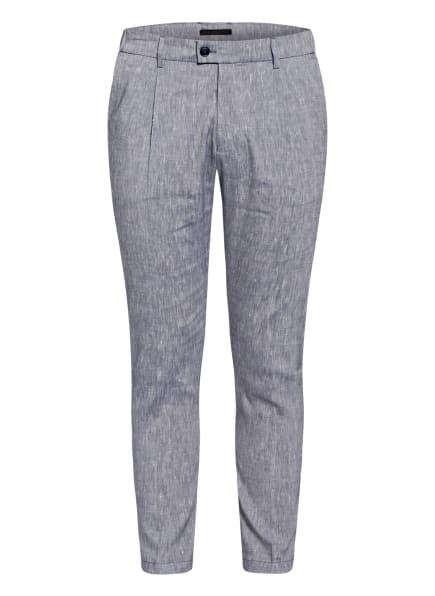 DRYKORN Anzughose CARE Extra Slim Fit mit Leinen, Farbe: 3200 blau (Bild 1)