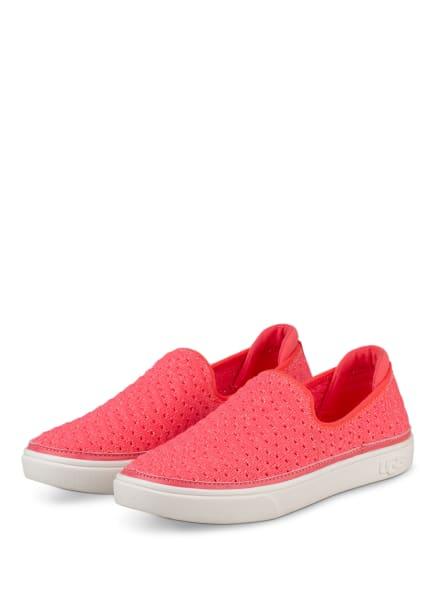 UGG Slip-on-Sneaker mit Glitzergarn, Farbe: PINK (Bild 1)