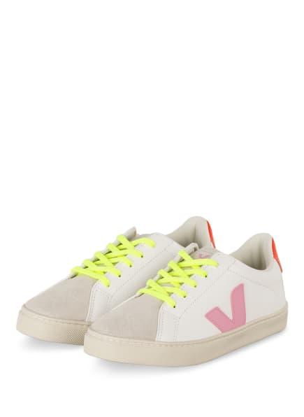 VEJA Sneaker ESPLAR, Farbe: WEISS/ ROSA/ ROT (Bild 1)
