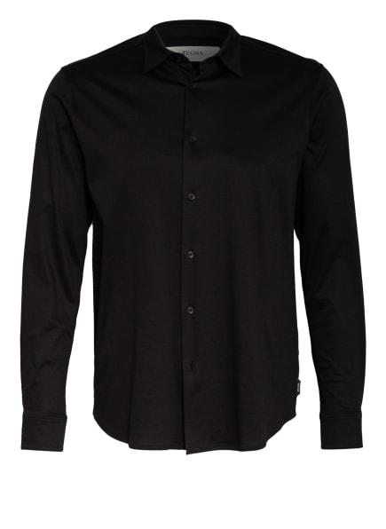ZZegna Jerseyhemd Regular Fit, Farbe: SCHWARZ (Bild 1)
