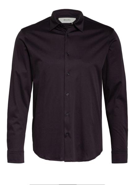 ZZegna Jerseyhemd Regular Fit, Farbe: DUNKELBLAU (Bild 1)