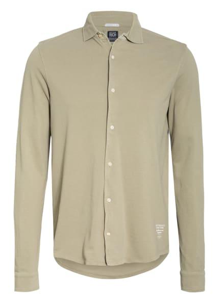 BETTER RICH Piqué-Hemd, Farbe: OLIV (Bild 1)