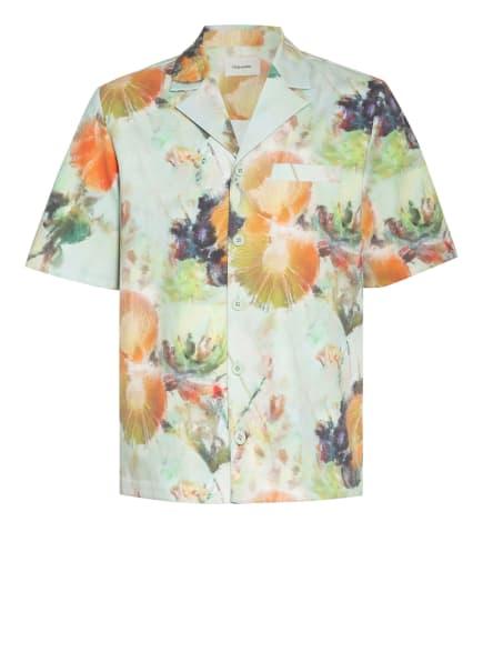 HOLZWEILER Resorthemd KIA Comfort Fit, Farbe: MINT/ ORANGE/ SCHWARZ (Bild 1)
