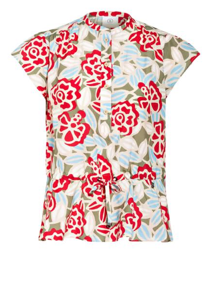 BOGNER Blusenshirt ELISA mit Seide, Farbe: CREME/ OLIV/ ROT (Bild 1)