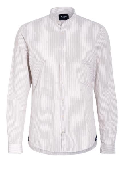 JOOP! JEANS Hemd HEDDE mit Leinen Slim Fit, Farbe: WEISS/ BEIGE (Bild 1)