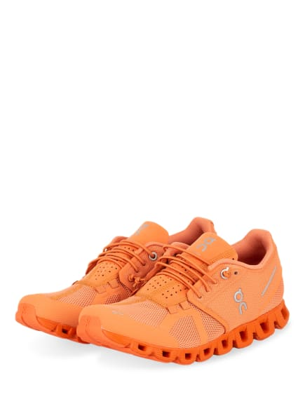 On Running Laufschuhe CLOUD MONOCHROME, Farbe: ORANGE (Bild 1)