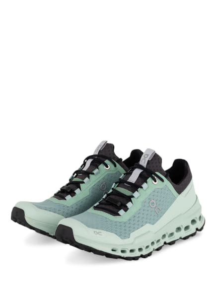On Trailrunning-Schuhe CLOUDULTRA, Farbe: MINT/ DUNKELGRAU (Bild 1)