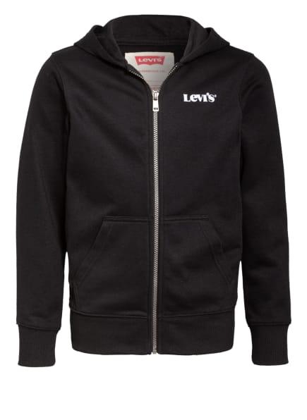 Levi's® Sweatjacke, Farbe: SCHWARZ (Bild 1)