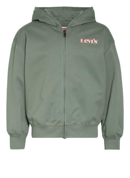 Levi's® Sweatjacke , Farbe: GRÜN (Bild 1)