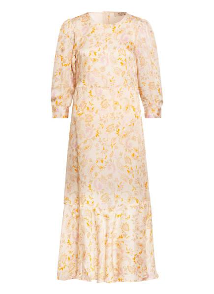 MOS MOSH Kleid SAKU mit 3/4-Arm , Farbe: HELLGELB/ ORANGE/ ROSA (Bild 1)