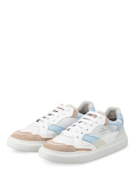 COPENHAGEN Sneaker CPH560, Farbe: WEISS/ HELLBLAU/ BEIGE (Bild 1)
