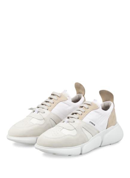 COPENHAGEN Plateau-Sneaker, Farbe: WEISS/ CREME/ BEIGE (Bild 1)