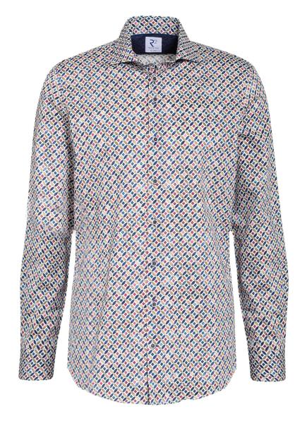 R2 Amsterdam Hemd Regular Fit, Farbe: WEISS/ BLAU/ DUNKELROT (Bild 1)