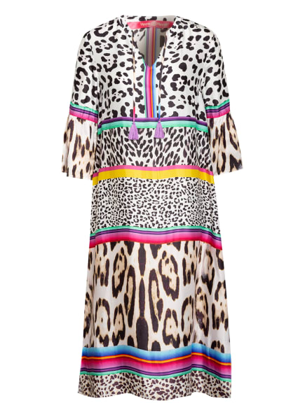 yippie hippie Strandkleid, Farbe: WEISS/ SCHWARZ/ MINT (Bild 1)