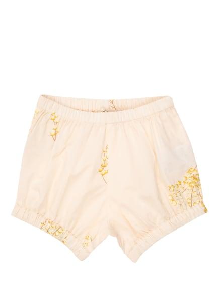 MarMar Shorts BLUMEN, Farbe: NUDE/ HELLGELB (Bild 1)