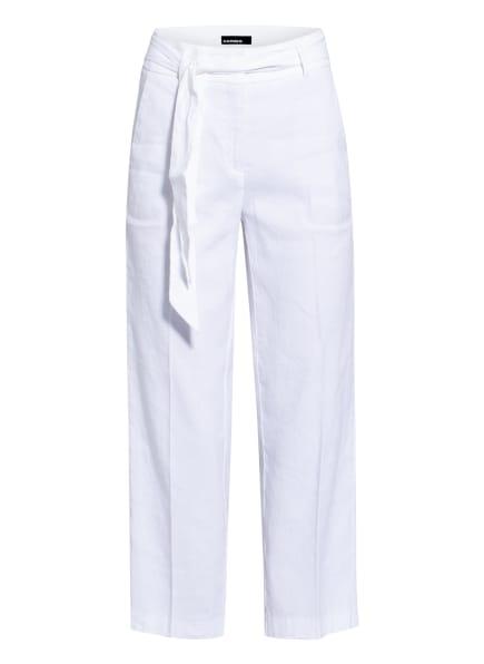 CAMBIO 7/8-Hose CLAIRE mit Leinen, Farbe: WEISS (Bild 1)