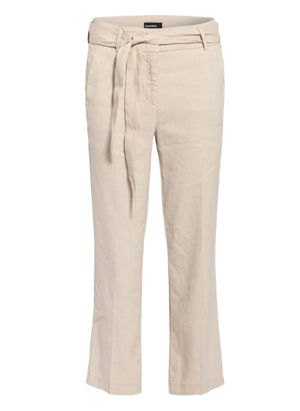 CAMBIO 7/8-Hose CLAIRE mit Leinen, Farbe: CREME (Bild 1)
