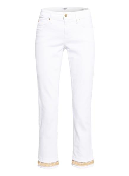 CAMBIO 7/8-Jeans TESS, Farbe: 5193 pure white double hem (Bild 1)