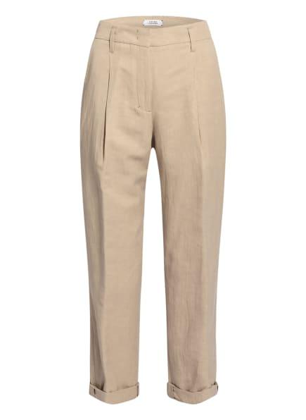DOROTHEE SCHUMACHER Hose mit Leinen, Farbe: BEIGE (Bild 1)