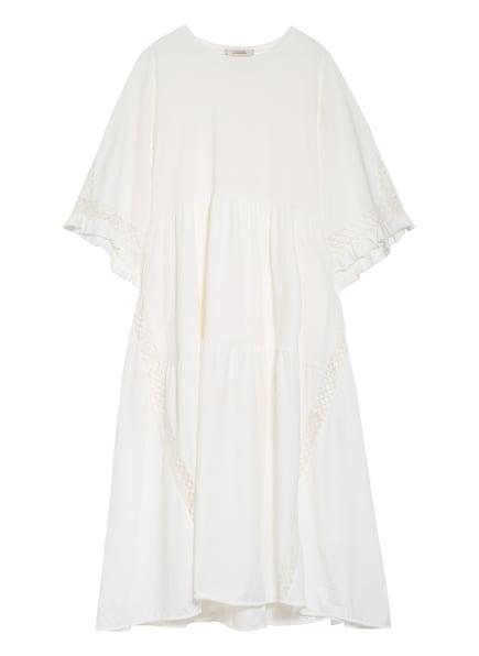 DOROTHEE SCHUMACHER Kleid mit Lochspitze, Farbe: WEISS (Bild 1)