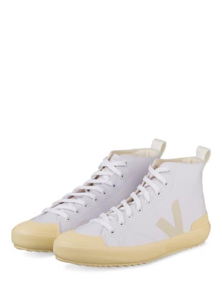 VEJA Hightop-Sneaker NOVA, Farbe: WEISS/ HELLGELB (Bild 1)