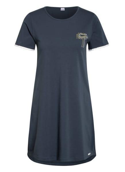 Skiny Nachthemd, Farbe: PETROL (Bild 1)