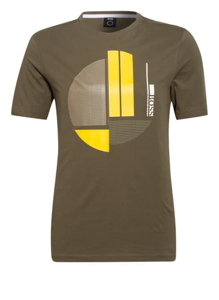 BOSS T-Shirt, Farbe: OLIV (Bild 1)